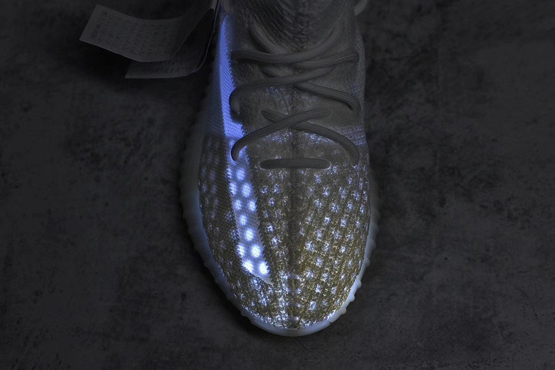 ADIDAS YEEZY BOOST 350 V2 White SURFACES WITH TRANSLUCENT STRIPE